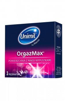 Unimil box 3 orgazmax prezerwatywy