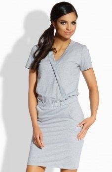 Lemoniade L196 sukienka szara