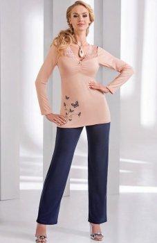 Donna Dorothy piżama brzoskwiniowa