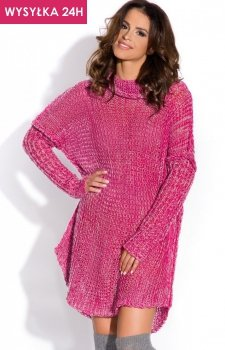 *FIMFI I136 sweter różowa