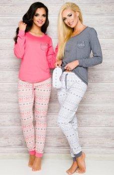Taro Nora 2124 AW/17 K1 piżama różowa