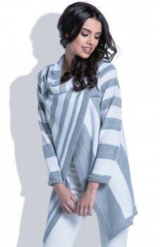 Fobya F401 sweter szary