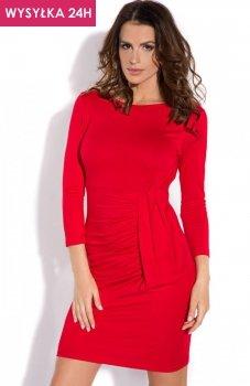 *FIMFI I138 sukienka czerwona