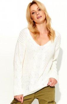 Makadamia S59 sweter ecru