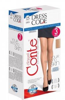 Conte Dress Code 15 rajstopy 3sztuki