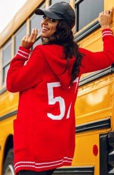 Envy Me EM606 sweter czerwony