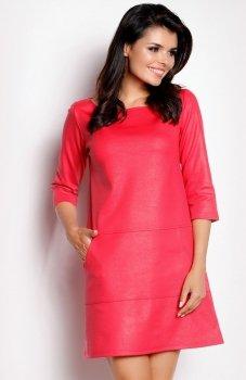 Awama A153 sukienka różowa
