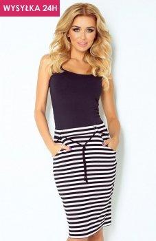 *SAF 127-3 spódnica biało-czarna