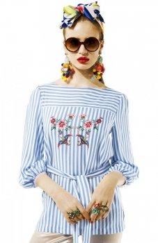 Kasia Miciak design amore bluzka w paski