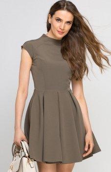 Lanti SUK143 sukienka khaki