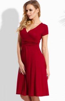 Envy Me EM111 sukienka bordowa