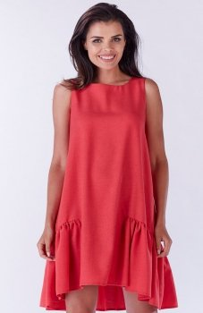 Awama A176 sukienka różowa