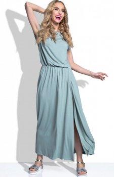 FIMFI I185 sukienka oliwkowa