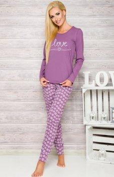 Taro Malina 1198 AW/17 K1 piżama wrzosowa