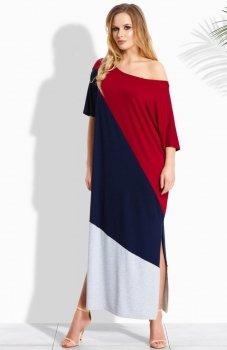 Envy Me EM110 sukienka bordowa