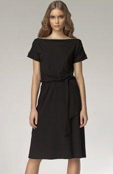 *Nife S13 sukienka czarna