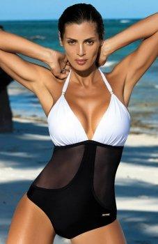 Marko Priscilla Bianco-Nero M-428 kostium kąpielowy