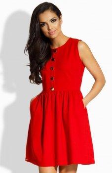 Lemoniade L203 sukienka czerwona