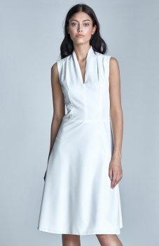 *Nife S74 sukienka ecru