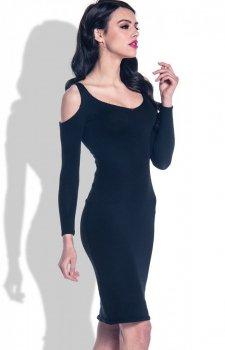 Fobya F370 sukienka czarna