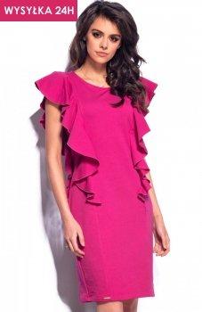 *Lemoniade L178 sukienka fuksja