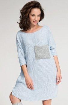 Numinou S04 sweter błękitny