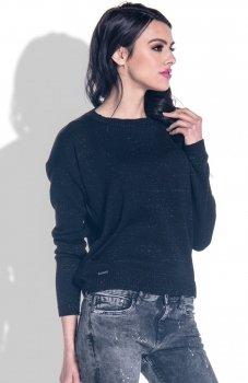 Fobya F361 sweter czarny