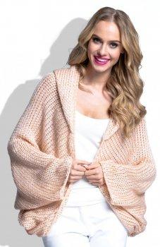 FIMFI I143 sweter morelowy
