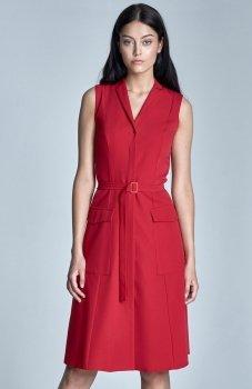 *Nife S72 sukienka czerwona