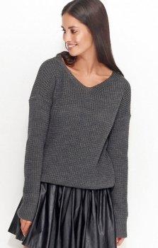 Numinou NU_S27 sweter grafitowy