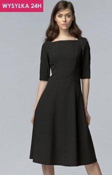 *Nife S63 sukienka czarna