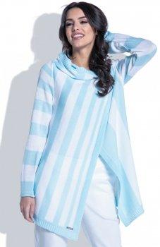Fobya F401 sweter błękitny