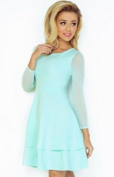 SAF 141-3 sukienka miętowa