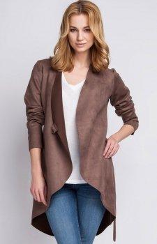Lanti ZA112 płaszcz brązowy