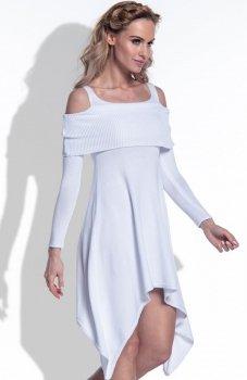 FIMFI I172 sukienka biała