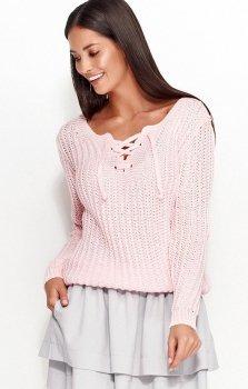 Numinou NU_S28 sweter różowy