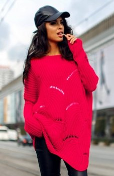 Envy Me EM605 sweter malinowy