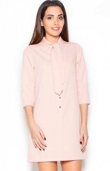 *Katrus K369 sukienka różowa
