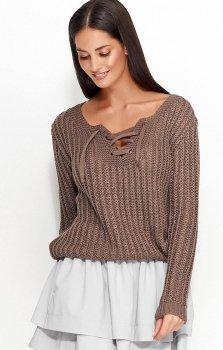 Numinou NU_S28 sweter cappucino