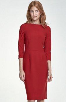 Nife S80 sukienka czerwona