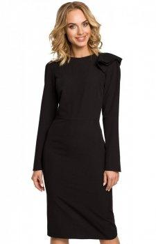 Moe M326 sukienka czarna