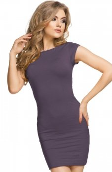 Tessita T179 sukienka fioletowa