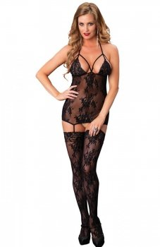 Leg Avenue 89172 bodystocking czarne