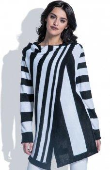 Fobya F401 sweter czarny