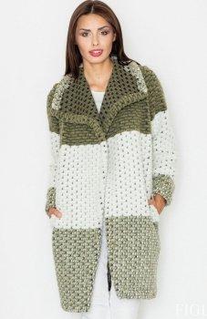 Figl M507 płaszcz zielony