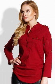 Envy me EM503 koszula bordowa