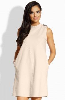 Lemoniade L198 sukienka beżowa