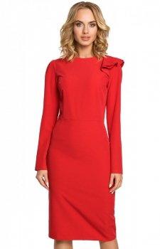 Moe M326 sukienka czerwona