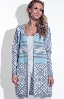 FIMFI I170 sweter błękitny