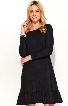 Makadamia M364 sukienka czarna